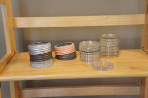 Antique Glass Crown Preserve Jars w Bands & Lids Kitchener / Waterloo Kitchener Area image 5