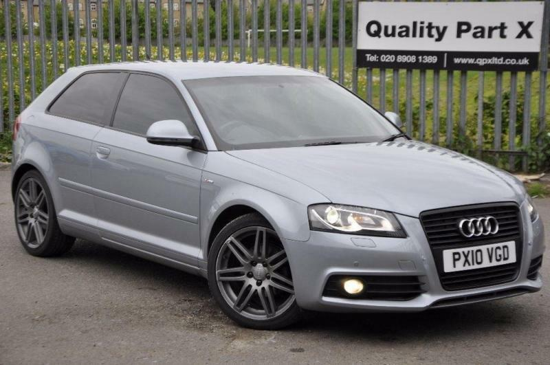 2010 audi a3 2 0 tdi s line 3dr in wembley london gumtree. Black Bedroom Furniture Sets. Home Design Ideas