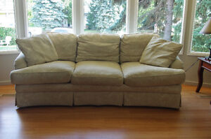 Firm and Comfy COUCH, SOFA by SHERRILL