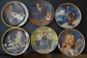 Norman Rockwell Plates-Collector Editions