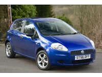 Fiat Grande Punto 1.2 Active 5 Door Cobolt Blue Metallic.