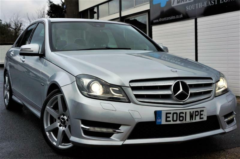 2012 MERCEDES C-CLASS 1.8 C180 BLUEEFFICIENCY SPORT 4DR SALOON AUTOMATIC PETROL