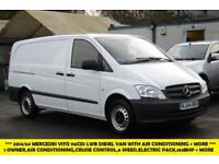 2014 MERCEDES VITO 116 CDI LWB DIESEL VAN WITH AIR CONDITIONING,CRUISE CONTROL,6