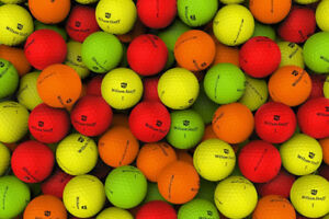 Colored Golf Balls for sale