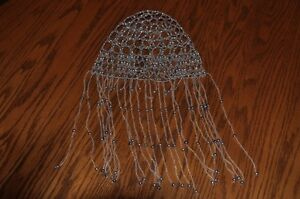 Vegas or Flapper stlye fitted, beaded head dress