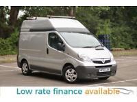 Vauxhall Vivaro NO VAT SWB HIGH ROOF IDEAL CAMPER CONVERSION