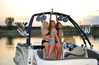 Monster Wakeboard Towers from New Coast Marine