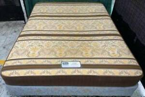 Excellent Sealy brand queen bed base with mattress. Pick up or deliver