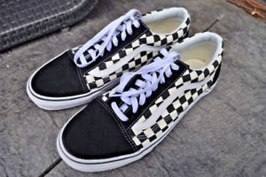 Vans Old Skool Primary Checkered Checkerboard Shoes 10.5 (10 11)