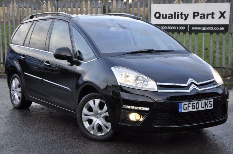 2011 citroen grand c4 picasso 1 6 e hdi exclusive egs 5dr. Black Bedroom Furniture Sets. Home Design Ideas