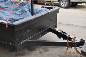 16 FT.  TANDEM TRAILER,  WILL  TRADE FOR SMALLER SIZE