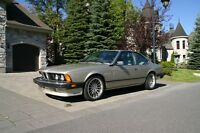 1986 BMW 635 CSI  beautiful Bronzite color