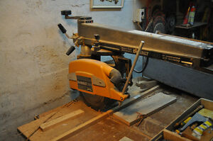 Power tools  Radial Arm Saw  Scie à bras radiaux