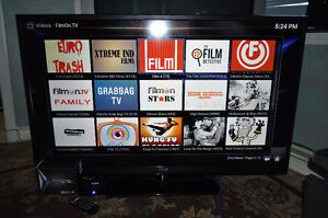 """50"""" Rca led tv and android tv box"""