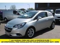 2015 VAUXHALL CORSA SPORTIVE 1.3 CDTI 95 6 - SPEED IN METALLIC SILVER WITH AIR C