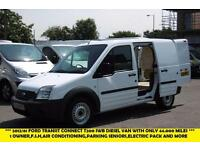 2012 FORD TRANSIT CONNECT T200 SWB DIESEL VAN WITH ONLY 44.000 MILES,AIR CONDITI