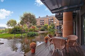 2 BED 2 BATH, DIRECTLY ON JAPANESE WATER GARDEN+GYM+CONCIERGE, TOWER BRIDGE- TG