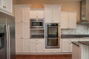 Hampton full wood kitchen - $1000 in accessories - $65 a month