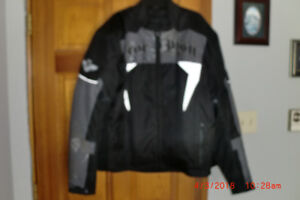 New, Mens Icon Scorpion motorcycle jacket