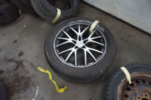 275/45/20 INFINITY ENVIRO SUMMER TIRE WITH MAGS