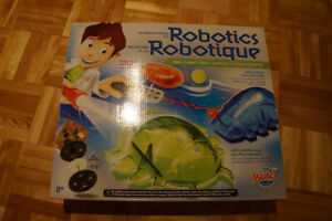 Jeu de fabrication de robots intelligents