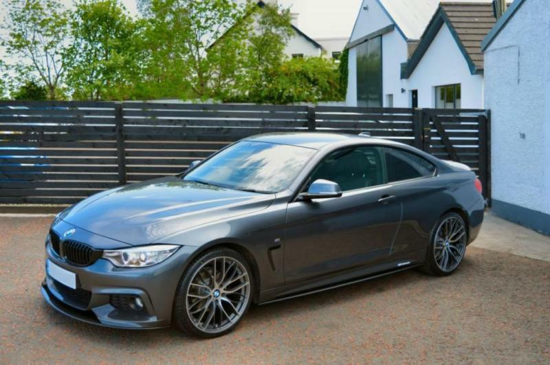 2014 64 Bmw 4 Series 2 0 420d M Sport 2d Auto 181 Bhp Mineral Grey M Performance In Ballymoney