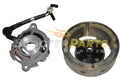 Electric Stator Alternator Flywheel Part 49cc 50cc Chinese Dirt Pit Bike Scooter