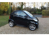 2013 62 Smart Fortwo PULSE 1.0 MHD AUTOMATIC CABRIOLET CONVERTIBLE FMBSH 33K ECO