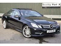 2013 Mercedes-Benz E Class 2.1 E250 CDI BlueEFFICIENCY Sport 7G-Tronic 2dr
