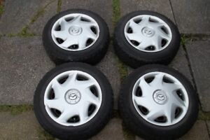 4 PaceMark Radial ST/2 Winter Tires,Rims And Wheel Covers.