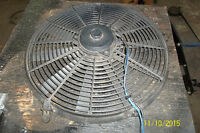 16 In 3 in low profile electric fan & relay & control 10 blade