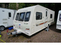 2011 BAILEY UNICORN VALENCIA 4 BERTH CARAVAN - FIXED BED - END WASH - ALDE - ATC