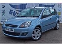 2006 FORD FIESTA 1.4 ZETEC CLIMATE 16V 5 DOOR LOW MILEAGE NEW MOT ALLOY WHEELS F