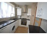 Stunning & Spacious 2 double bedroom flat new fitted kitchen large reception converted to bedroom 3