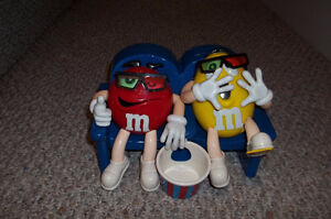 M & M's at the movies candy dispenser