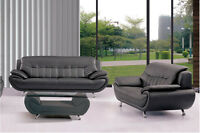 Liquidation white or black 3mx sofa set