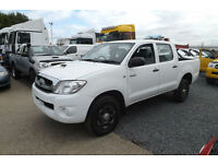 2010 60 Toyota Hilux 2.5 D-4D DOUBLE CAB PICK UP 4X4 DIESEL FTSH AIR CON CD