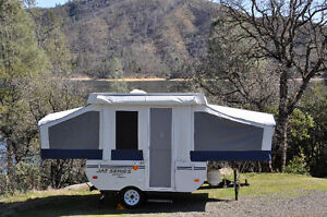 Wanted Pop Up Tent Trailer 8 ft - Dry Weight around 1400 lbs.