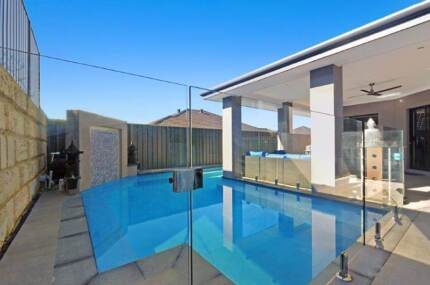 Frameless Glass Pool Fencing from $132 L/M - DIY Wangara Wanneroo Area Preview