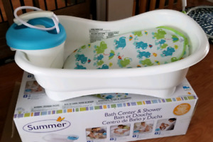 Summer Infant Newborn to Toddler Bath and shower