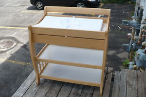 Baby Change Table STORK Diaper Storage Drawer Furniture CLEAN
