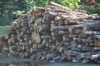 firewood, hard wood cut and split and 8ft lenghts