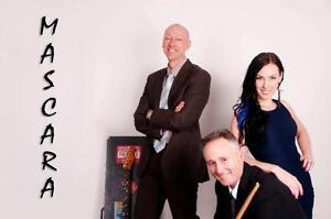"""MASCARA"" - 3 Piece Commercial Cover Band Adelaide CBD Adelaide City Preview"