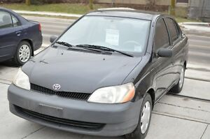 2002 Toyota Echo 5 spd, low kms Only $2598.00