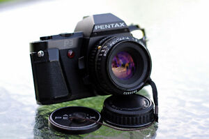 Pentax Lens or Zoom + Pentax Program A or P3 (better than K1000)