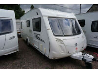 2011 SWIFT CHARISMA 545 4 BERTH CARAVAN - LARGE DINETTE FIXED BED STUNNING!!