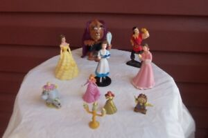 10 pc Beauty & The Beast Figurine Play Set or Cake Topper!