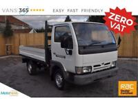 Nissan Cabstar NO VAT ALLOY DROPSIDE SWB 2.7L TDI ENGINE