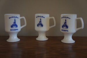 Vintage Disney Milk Glass – Collectable Mugs