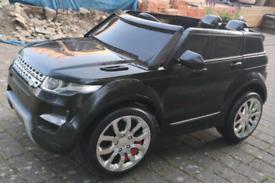 Range Rover Kids Electric ride on 12v car